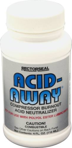 ACID AWAY COMPRESSOR BURNOUT ACID NEUTRALIZER, 4 OZ