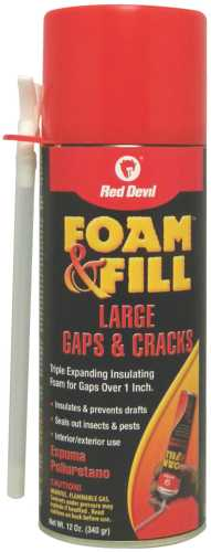 FOAM & FILL� TRIPLE EXPANDING POLYURETHANE SEALANT, 12 FL. OZ.