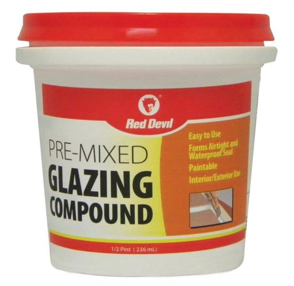 00662 HP GLAZING COMPOUND