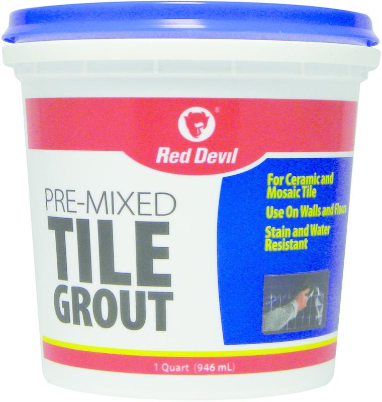 0424 QT PRE-MIX TILE GROUT