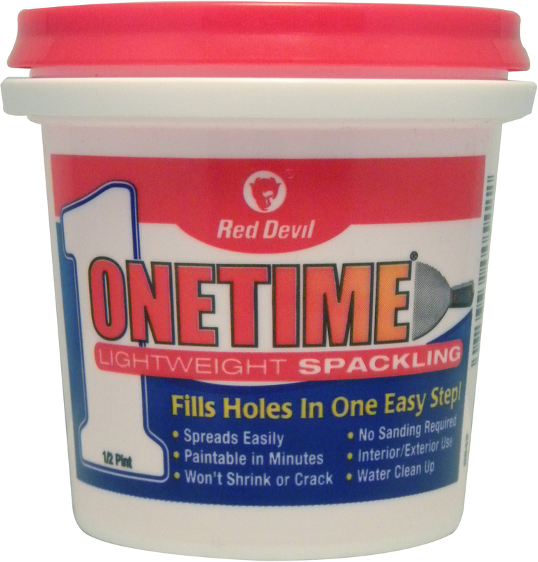 0542 1/2PT ONETIME SPACKLE