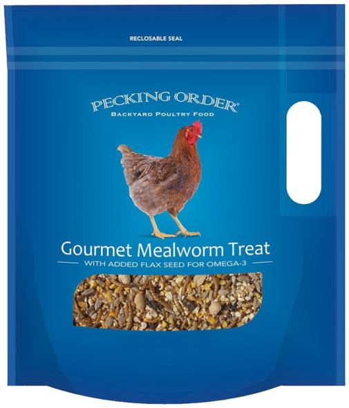 TREAT CHICKEN MEALWORM 3OZ