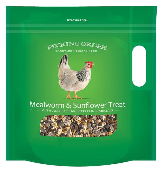 TREAT MEALWORM/SUNFLOWER 3OZ