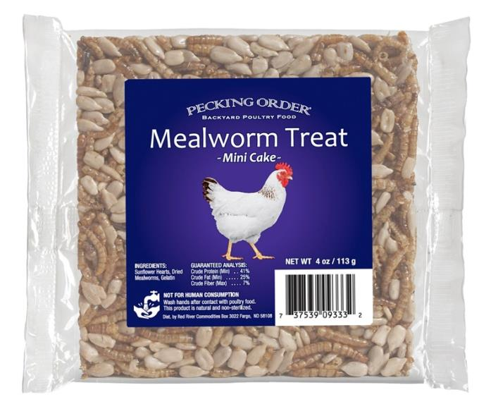 TREAT MLWRM CAKE F/CHICKEN 4OZ