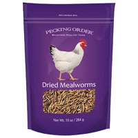 MEALWORMS F/CHICKENS 10OZ