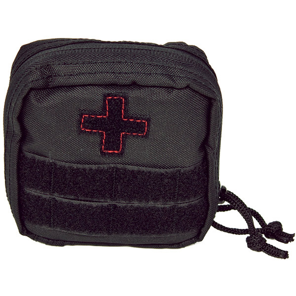 Soldier Individual First Aid Kit, Black