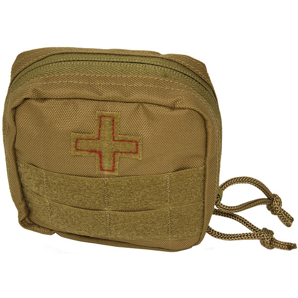 Soldier Individual First Aid Kit, Coyote