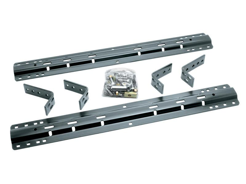 Reese Fifth Wheel Rails Installation Kit Includes Brackets  Hardware 10 Bolt Design May Require Kit