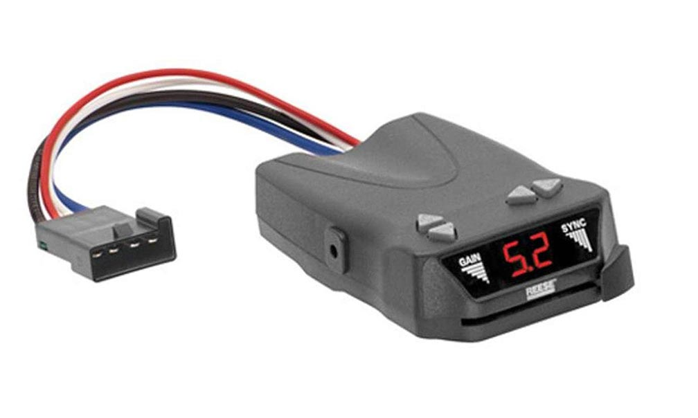 Reese Brakeman IV Digital Brake Control for 1 to 4 Axle Trailers Timed Actuated