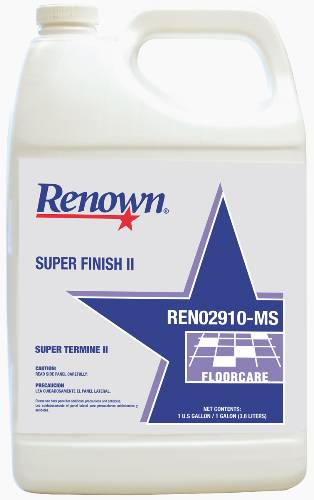 REN SUPER FINISH II FLOOR FINISH  GL