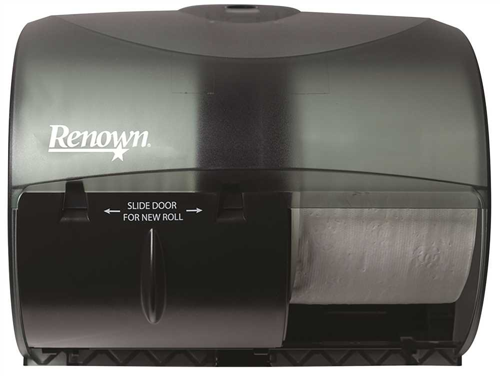 Renown Toilet Tissue Dispenser 2-Roll System