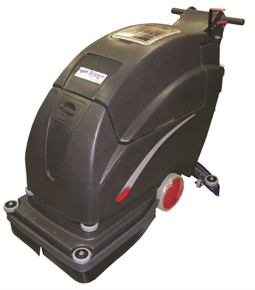 "RENOWN� 20"" SCRUBBER 130 AMP BATTERIES"