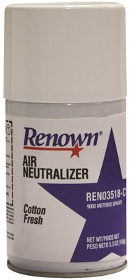 RENOWN� 9000 METERED REFILL COTTON FRESH