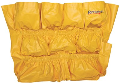RENOWN� CADDY BAG FOR 44-GALLON WASTE CONTAINERS, YELLOW,
