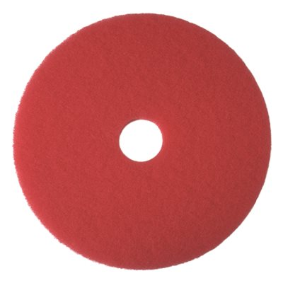 RENOWN� BUFFING PAD, RED, 13 IN.