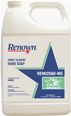 RENONW� HONEY ALMOND HAND SOAP, GALLON