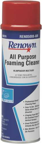 RENOWN ALL PURPOSE FOAM CLEANER AEROSOL    19OZ