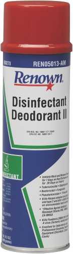 RENOWN� DISINFECTANT DEODORANT II, AEROSOL