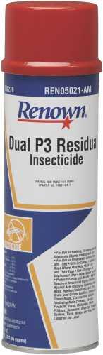 RENOWN� DUAL P3 RESIDUAL INSECTICIDE, AEROSOL, 17 OZ.