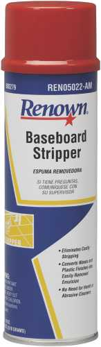 RENOWN BASEBOARD STRIPPER CLEANER - AEROSOL   22OZ