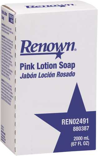 RENOWN� 2000 ML LIQUID NXT PINK LOTION HAND SOAP REFILL