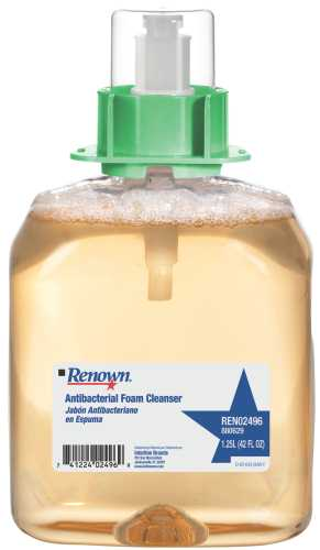 RENOWN� ANTIBACTERIAL FOAM CLEANSER, 1,250ML
