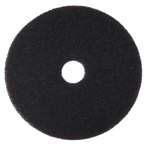 RENOWN BLACK STRIPPING PAD 19IN