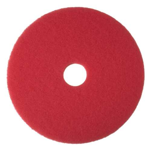 RENOWN� BUFFING PAD, RED, 18 IN.