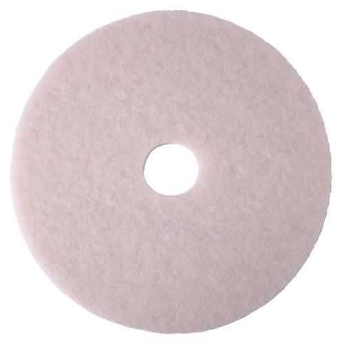 RENOWN� POLISHING PAD, WHITE, 18 IN.