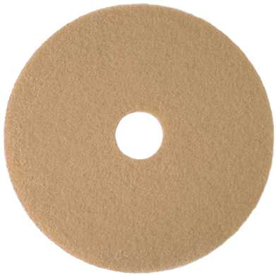 RENOWN� BURNISHING PAD 21 IN. TAN