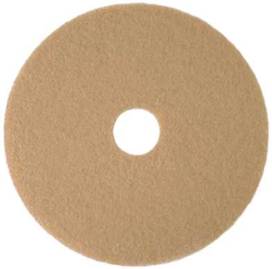 RENOWN� BURNISHING PAD, TAN, 24""