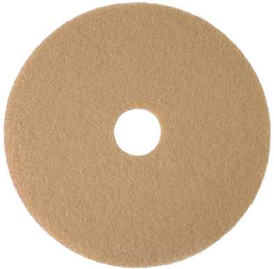 "RENOWN� BURNISHING PAD 27"" TAN"