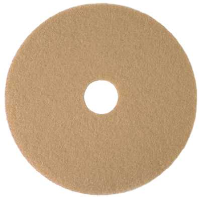 RENOWN� BURNISHING PAD 20 IN. TAN