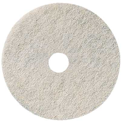 RENOWN� BURNISHING PAD 21 IN. NATURAL WHITE