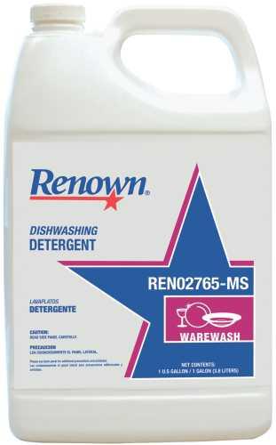 RENOWN� DISHWASHING DETERGENT, 1 GALLON