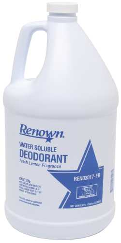 RENOWN� WATER SOLUBLE LEMON DEODORANT GALLON