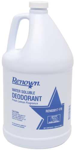 RENOWN� WATER SOLUBLE LEMON DEODORANT GALLON