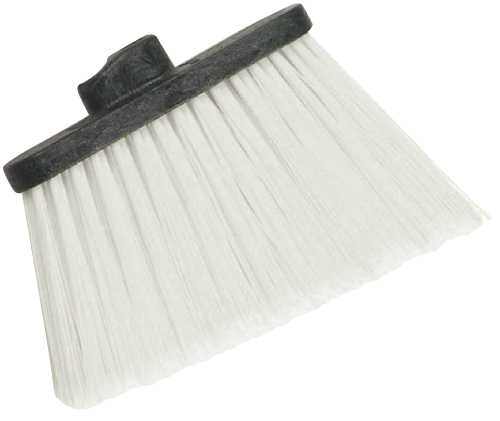 RENOWN� DUO-SWEEP ANGLE BROOM, UNFLAGGED HEAD ONLY TAN