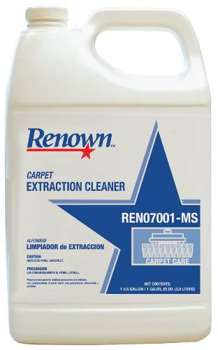 RENOWN CARPET EXTRACTION CLEANER 1GL