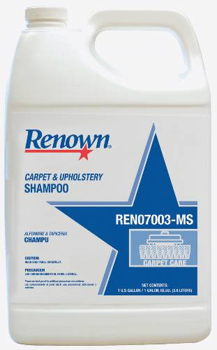 RENOWN CARPET AND UPHOLSTERY SHAMPOO 1GL