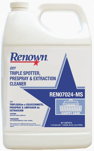 REN OXY TRIPLE SPOTTER, PRESPRAY AND EXTRACTION CLEANER 1GL