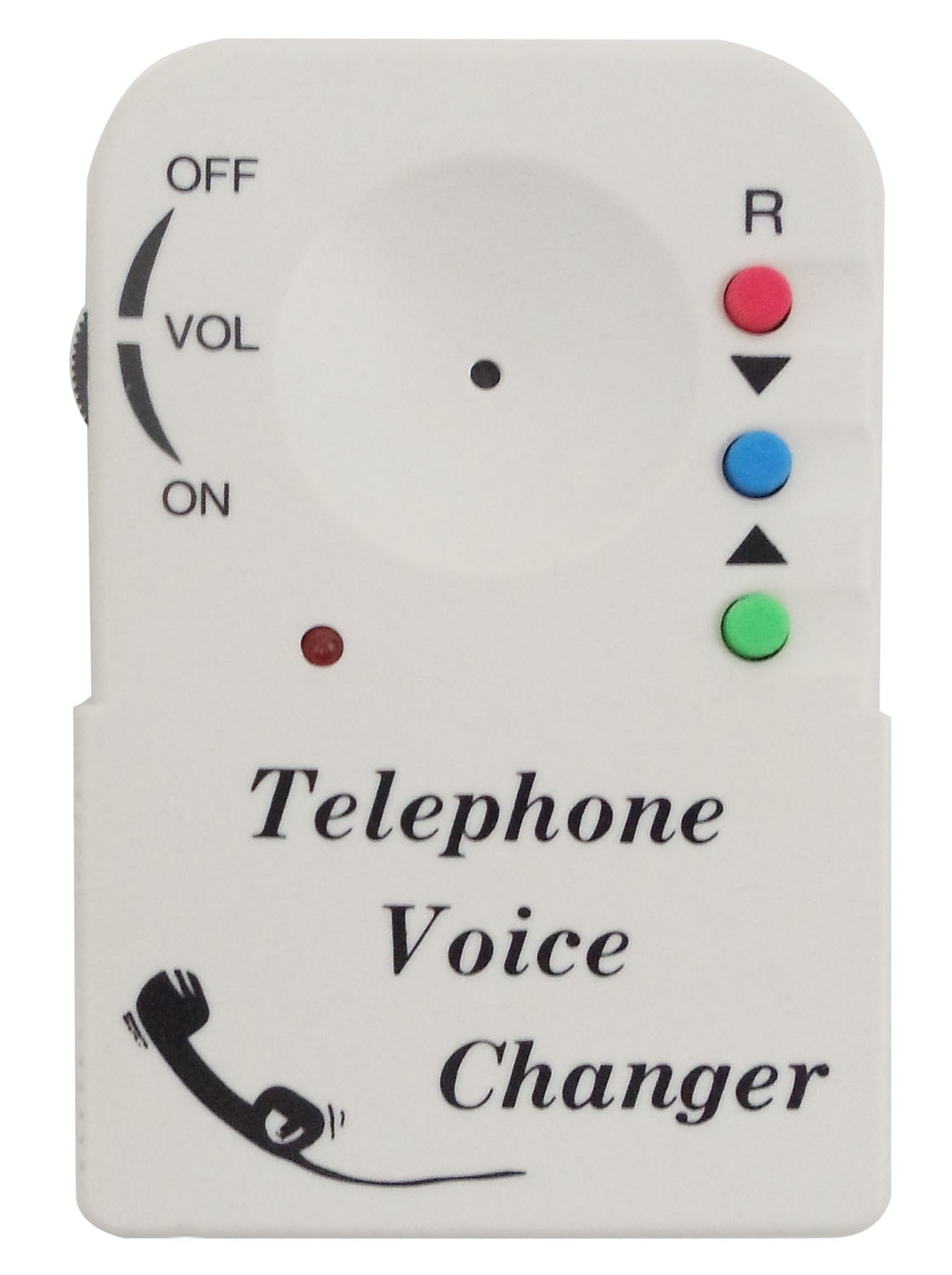 RF LIMITED - TELEPHONE VOICE DISGUISER - FUN PRODUCT CHANGES VOICE TO UNFAMILIAR SOUND. COMPATIBLE WITH ANY TELEPHONE.