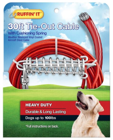 TIE-OUT CABLE 1700LB 30FT