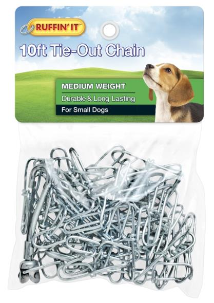 CHAIN TIE-OUT 10FT MED WGT