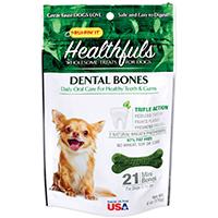 Rhode Island 08410 Ruffin? It ? Healthfuls Dog Dental Treats, Triple Action, 5-15 Lb Dogs