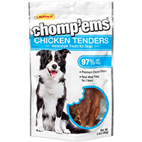 Rhode Island 08204 Ruffin? It ? Chomp?Ems Dog Treats, Chicken Tenders, 3.5 Oz