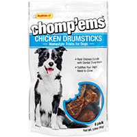Rhode Island 08216 Ruffin? It ? Chomp?Ems Dog Treats, Chicken Drumsticks, 5.64 Oz