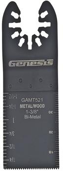 GAMT521 1-3/8 BIM OSC BLADE