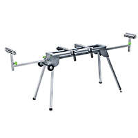 Richpower GMSS400W Heavy Duty Miter Saw Stand With Wheels, 400 lb, Steel