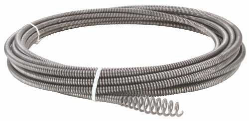 RIDGID C-1 SINK CABLE WITH BULB AUGER, 5/16 IN. X 25 FT.